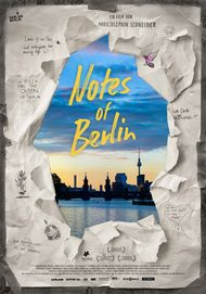 """Movie poster for """"NOTES OF BERLIN"""""""