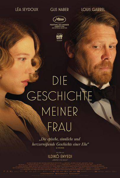 """Movie poster for """"A FELESÉGEM TÖRTÉNETE"""""""