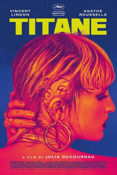 "Movie poster for ""TITANE"""