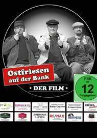 """Filmplakat für """"OSTFRIESEN AUF DER BANK - DER FILM"""""""
