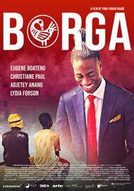 "Movie poster for ""BORGA"""