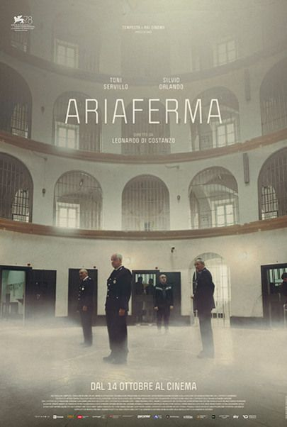 """Movie poster for """"ARIAFERMA"""""""