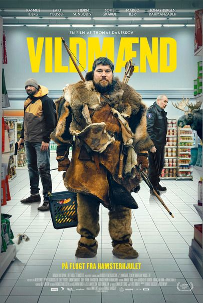"""Movie poster for """"VILDMÆND"""""""