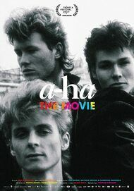 """Movie poster for """"A-HA THE MOVIE"""""""
