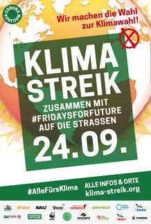 """Filmplakat für """"KLIMASTREIK 2021"""""""
