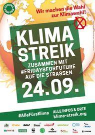 "Movie poster for ""KLIMASTREIK 2021"""