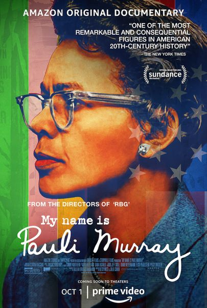 """Movie poster for """"MY NAME IS PAULI MURRAY"""""""
