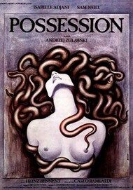 "Movie poster for ""POSSESSION (4K RESTORATION)"""