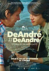 """Movie poster for """"De André Storia di un impiegato"""""""