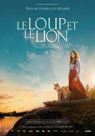 """Movie poster for """"LE LOUP ET LE LION"""""""