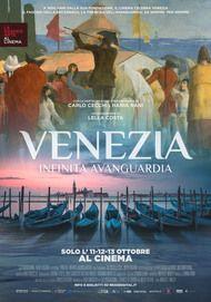 "Movie poster for ""Venezia. Infinita Avanguardia."""