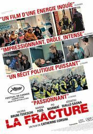 """Movie poster for """"LA FRACTURE"""""""