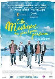 """Movie poster for """"CETTE MUSIQUE NE JOUE POUR PERSONNE"""""""