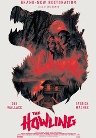 """Movie poster for """"THE HOWLING"""""""