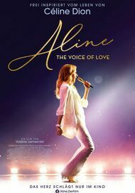 """Movie poster for """"ALINE - THE VOICE OF LOVE"""""""