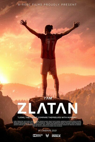 """Movie poster for """"I Am Zlatan"""""""