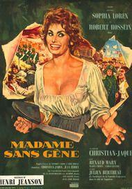 "Movie poster for ""MADAME SANS GENE"""