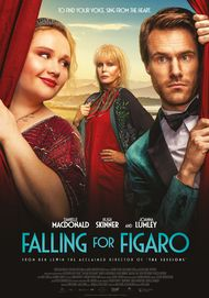 """Movie poster for """"FALLING FOR FIGARO"""""""