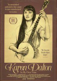 "Movie poster for ""KAREN DALTON: IN MY OWN TIME"""