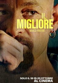 """Movie poster for """"Il Migliore. Marco Pantani."""""""