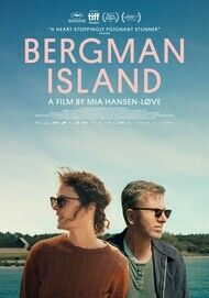 "Movie poster for ""BERGMAN ISLAND"""