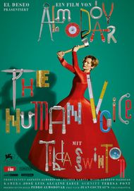 """Movie poster for """"THE HUMAN VOICE"""""""