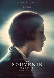 """Movie poster for """"THE SOUVENIR PART II"""""""