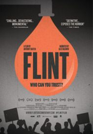 """Movie poster for """"FLINT: WHO CAN YOU TRUST?"""""""