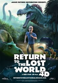 """Movie poster for """"RETURN TO THE LOST WORLD"""""""