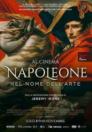"""Movie poster for """"Napoleone. Nel nome dell'arte"""""""