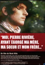 """Movie poster for """"Moi, Pierre Rivière, ayant égorgé ma mère, ma soeur et mon frère"""""""