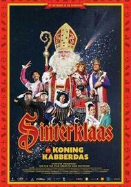 "Movie poster for ""SINTERKLAAS EN KONING KABBERDAS"""