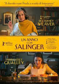 """Movie poster for """"Un Anno Con Salinger"""""""