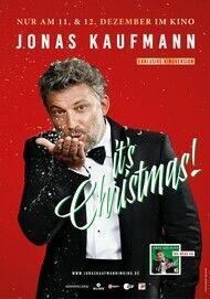 "Filmplakat für ""IT'S CHRISTMAS - WEIHNACHTEN MIT JONAS KAUFMANN (Kino Edition)"""