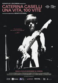 """Movie poster for """"CATERINA CASELLI. UNA VITA, CENTO VITE"""""""