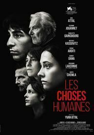 """Movie poster for """"LES CHOSES HUMAINES"""""""
