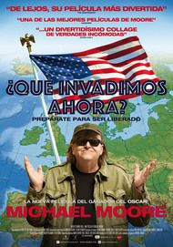 """Movie poster for """"WHERE TO INVADE NEXT"""""""