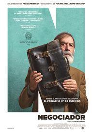 """Movie poster for """"Negociador"""""""