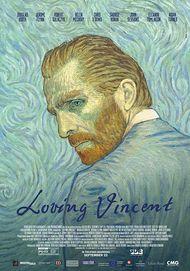"Movie poster for ""LOVING VINCENT"""