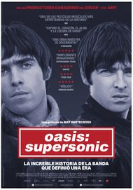 """Movie poster for """"Oasis: Supersonic"""""""
