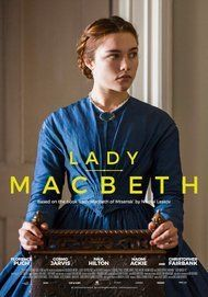 """Movie poster for """"LADY MACBETH"""""""