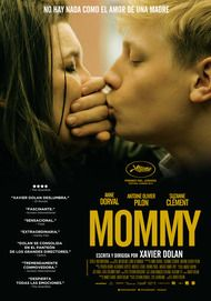 """Movie poster for """"MOMMY"""""""