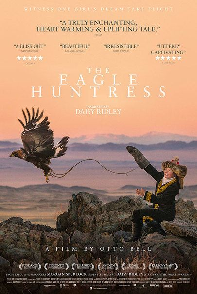 """Movie poster for """"THE EAGLE HUNTRESS """""""