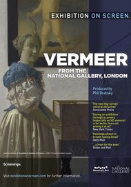 """Movie poster for """"VERMEER AND MUSIC: THE ART OF LOVE AND LEISURE"""""""