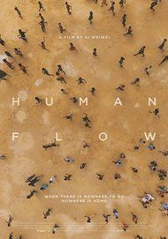 """Movie poster for """"HUMAN FLOW"""""""