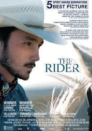 """Movie poster for """"THE RIDER"""""""