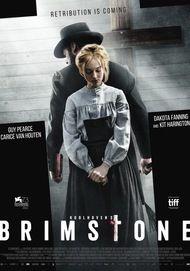 "Movie poster for ""BRIMSTONE"""