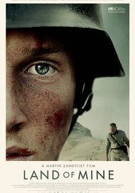 """Movie poster for """"LAND OF MINE"""""""