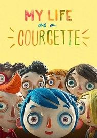 """Movie poster for """"My Life As A Courgette"""""""