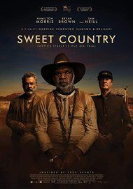 """Movie poster for """"Sweet Country"""""""